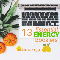 13 Essential Energy Boosters- Part 1