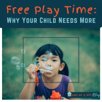 Free Play Time: Why Your Child Needs More
