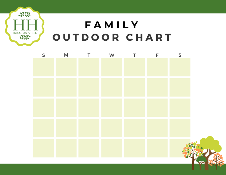 Outdoor Time Chart